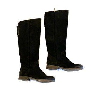 Franco Sarto knee high black boots 8
